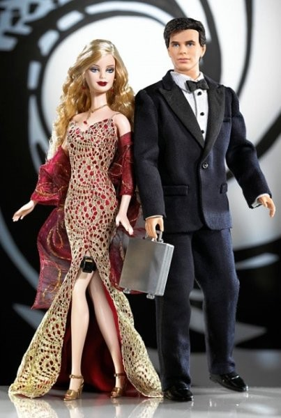 BARBIE & KEN - James Bond & Bond Girl (rok 2003)