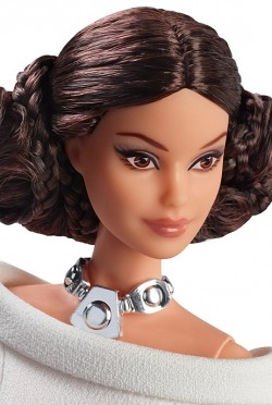 BARBIE Princess Leia Star Wars GOLD LABEL, r. 2019