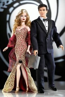 BARBIE & KEN - James Bond & Bond Girl (rok 2003)
