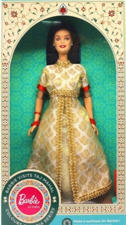 BARBIE visits Taj Mahal - Colours of India, rok 2017