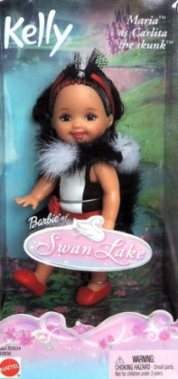 KELLY - Maria as Carlita the Skunk (Skunk Carlita), kolekce Swan Lake (Labutí jezero)
