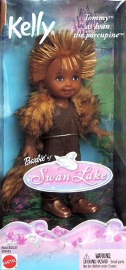 TOMMY as Ivan the Porcupine (Dikobraz Ivan) - černoušek, kolekce Swan Lake (Labutí jezero)