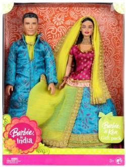 BARBIE + KEN Wedding Fantasy - indická nevěsta se ženichem - poškozený obal