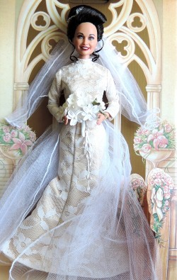 Erica Kane Wedding Doll