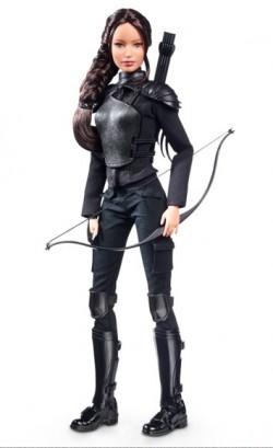 Barbie Katniss The Hunger Games: Mockingjay—Part 2 - poškozený obal