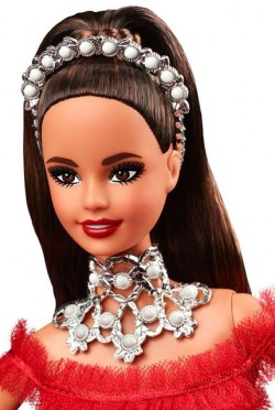 BARBIE Holiday 2018 Brunette (brunetka)